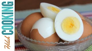 Easy Peel Boiled Eggs |  Hilah Cooking