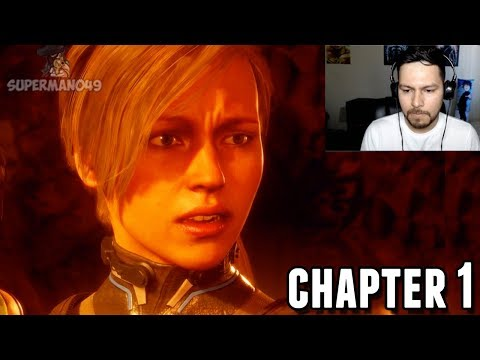 """The Crazy Start To The MK11 Story... - Mortal Kombat 11: Story Mode """"Cassie Cage"""" (Chapter 1)"""
