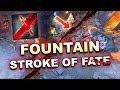 Dota 2 tricks: NEW FOUNTAIN Grimstroke's Stroke of Fate! 7.19d