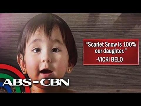 Bandila: Vicki Belo confirms Scarlet Snow is her biological daughter