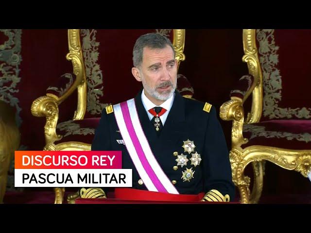 Discurso del Rey Felipe en la Pascua Militar 2021