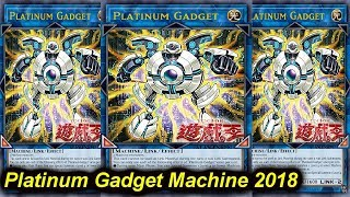 【YGOPRO】PLATIMUM GADGET MACHINE DECK 2018