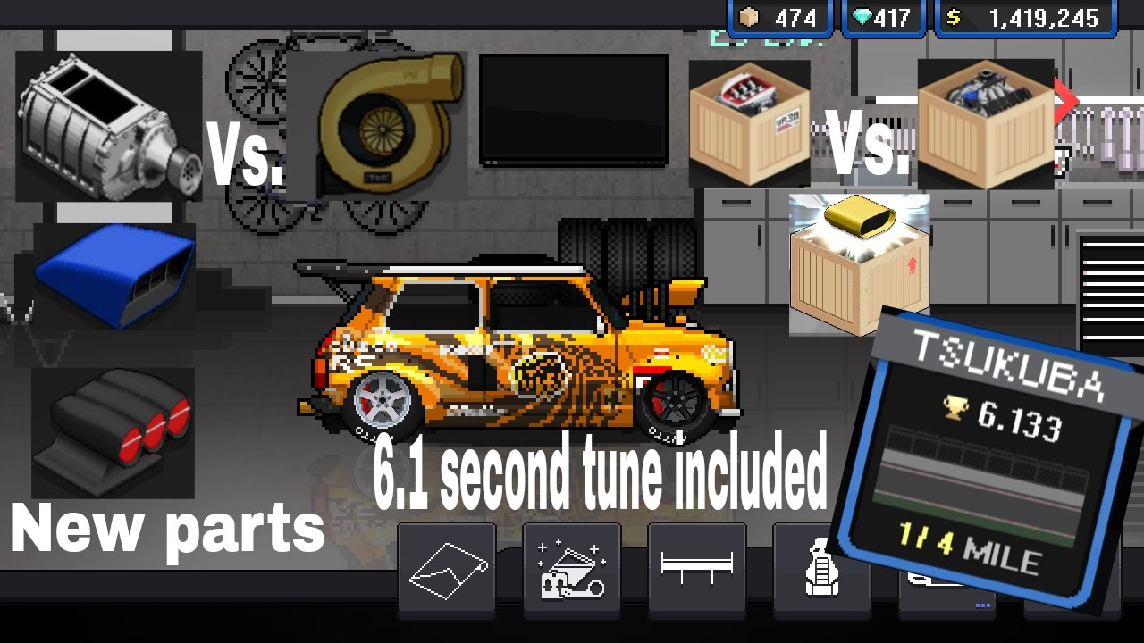 Pixel Car Racer Next Update