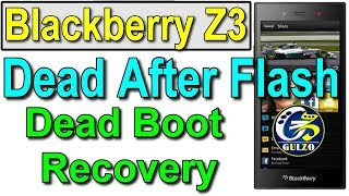 How To Flash Blackberry Z3