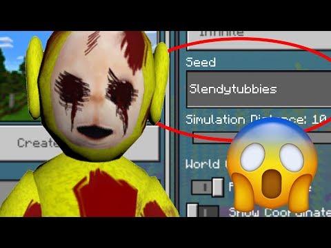 "Minecraft ""SLENDYTUBBIES"" World (Warning: Scary Minecraft Seed)"