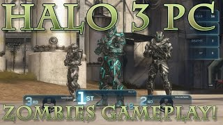 Halo 3 PC Gameplay!  Zombies on Zanzibar!