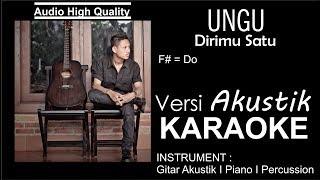 Download lagu UNGU DIRIMU SATU KARAOKE AKUSTIK MP3