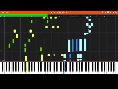 James Scott  Pegasus A Classic Rag 1920 Synthesia Piano Tutorial + Sheet Music