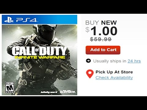 Thumbnail: INFINITE WARFARE IS ON SALE FOR $1 LMAO