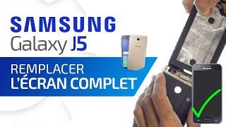 Tutoriel Samsung Galaxy J5 : remplacer la vitre tactile + l'écran Amoled  HD