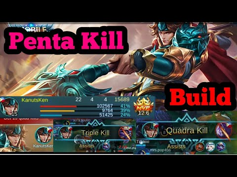 Yun Zhao remake Best Build Zhao Yun kill montage Mobile Legends