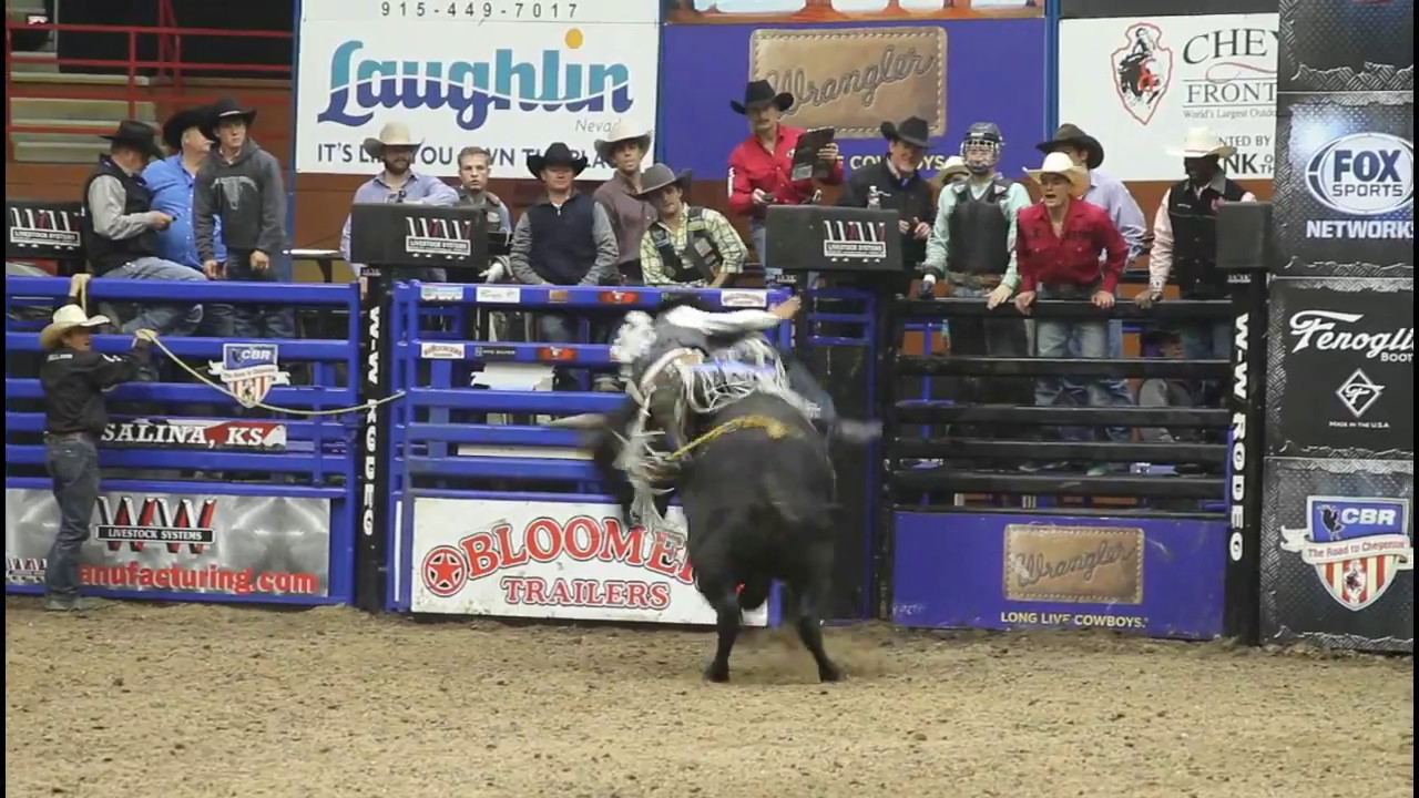 don gay bull riding salina ks