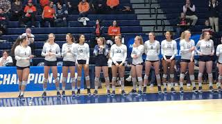 Yale Vb 2018 Ncaa Tournament Starters