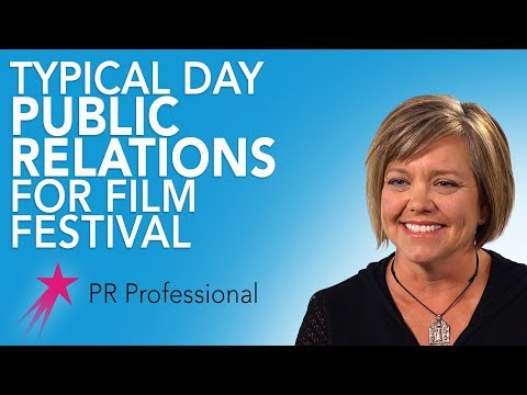 Public Relations Professional: Typical Day - Tammy Brislin Career Girls Role Model