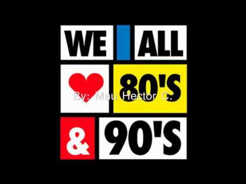 Mix Rock Roll Pop de los 80s y 90s Musicas en Ingles y Españ