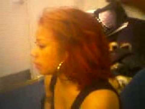 Vernon Francois Working With Keyshia Cole On Her Natural Afro