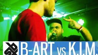 b art vs k i m   grand beatbox 7 to smoke battle 2016   battle 1