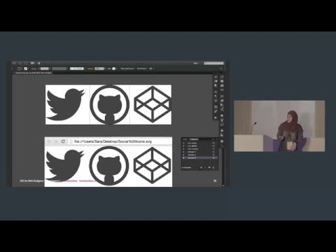 Sara Soueidan: SVG for Web Designers (and Developers)