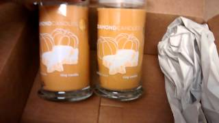 My first Diamond Candles Order