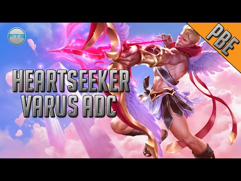 League of Legends - Heartseeker Varus ADC - Full Game Commentary and Skin Spotlight PBE