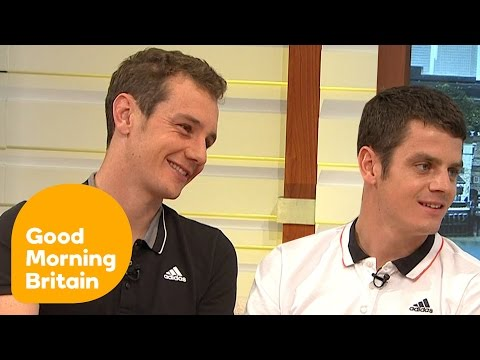 The Brownlee Brothers On Their Amazing Display Of Brotherly Love In Mexico | Good Morning Britain