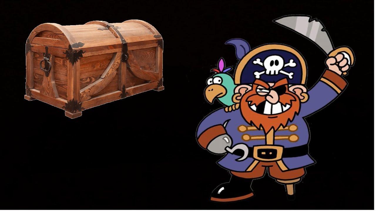 Прячем детские сокровища в сундучок от разбойников и пиратов! Игра в остров сокровищ :)