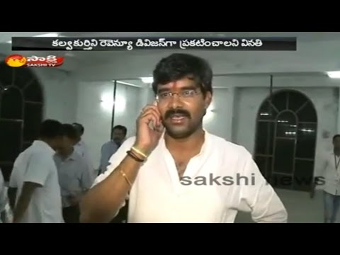 Congress MLA Vamshi Chand Reddy Indefinite Hunger Strike For Kalwakurthy Revenue Division