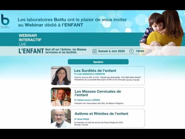 L'ENFANT  Best off sur l'Asthme, les Masses cervicales et les Surdités