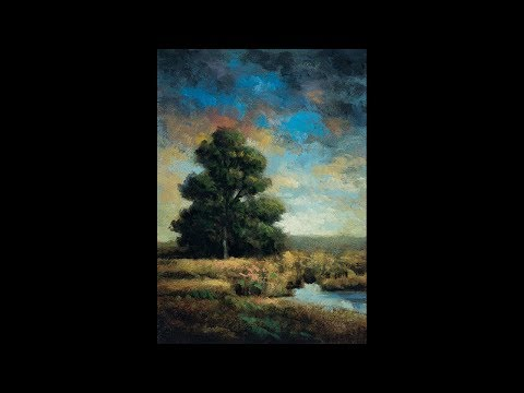 Riverside Meadow 5×7 RedoTonalist Landscape Oil Painting Demonstration