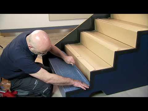 Piso de escada - colagem