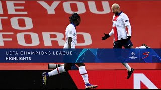 UEFA Champions League | Manchester United v Paris Saint-Germain | Highlights
