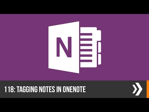 Creating and Using Tags in OneNote | Everyday Office 008