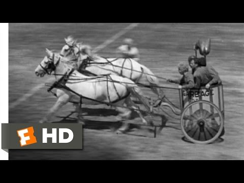 Horse Feathers (9/9) Movie CLIP - Pinky's Fourth Quarter Heroics (1932) HD