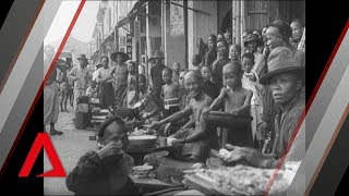 Rare Footage of Singapore from 1900s | Open Air Restaurant | Singapore On Film