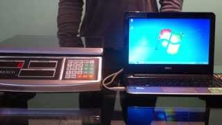 Balanza POS II con ICG Software, Protocol Megallan
