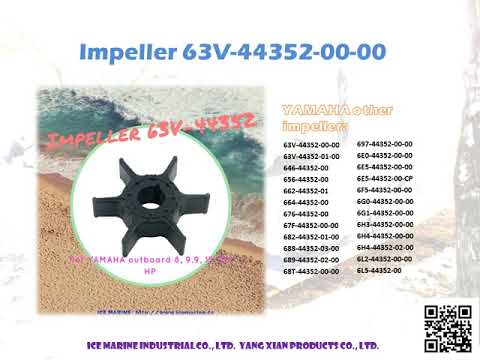 Outboard Impeller 63V-44352-00-00 from ICE Marine Industrial Co., Ltd.