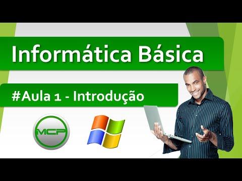 Curso Informática básica - Aula 1 - Introdução à informática (HD)