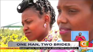 Man marries 2 brides in one wedding