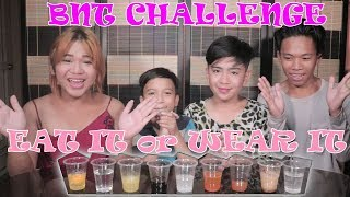 EAT OR WEAR IT CHALLENGE! (NAKAKALOKA MGA BEKS!)
