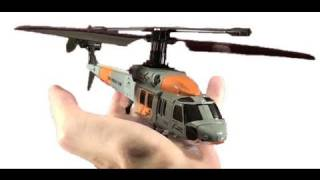 2011 Three Channel Silverlit Black Hawk Deluxe Outside Flight and Review