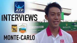 Nishikori Explains Seppi Victory In Monte-Carlo 2018