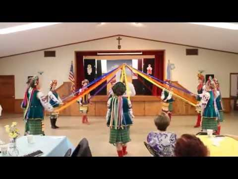 2016 UACCH Ukrainian Independence Day - Trepet - Ribbon Dance