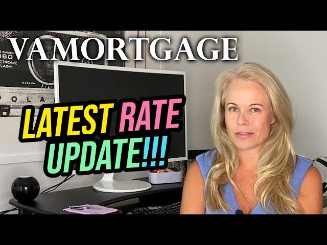 VA Mortgage Rate Update - VA Home Loans/Mortgage Rates In 2020 During Coronavirus!