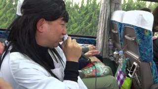 爆風スランプのRunnnerに乗せて足湯あるある.
