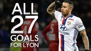 Memphis Depay – All 27 Goals Scored for Lyon (2017-2018)