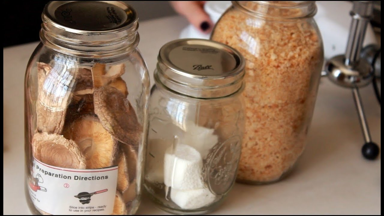 Vacuum Seal Mason Jars For Under $30 (Food Storage)   YouTube