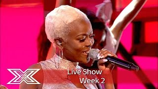Gifty Louise covers Michael Jackson for Motown Week! | Live Shows Week 2 | The X Factor UK 2016