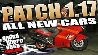 GTA 5 Patch 1.17 - All New Cars & Bikes Full Preview + Customization (GTA 5 DLC)