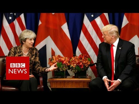 Trump hits out at UK PM Theresa May after far-right video tweets - BBC News