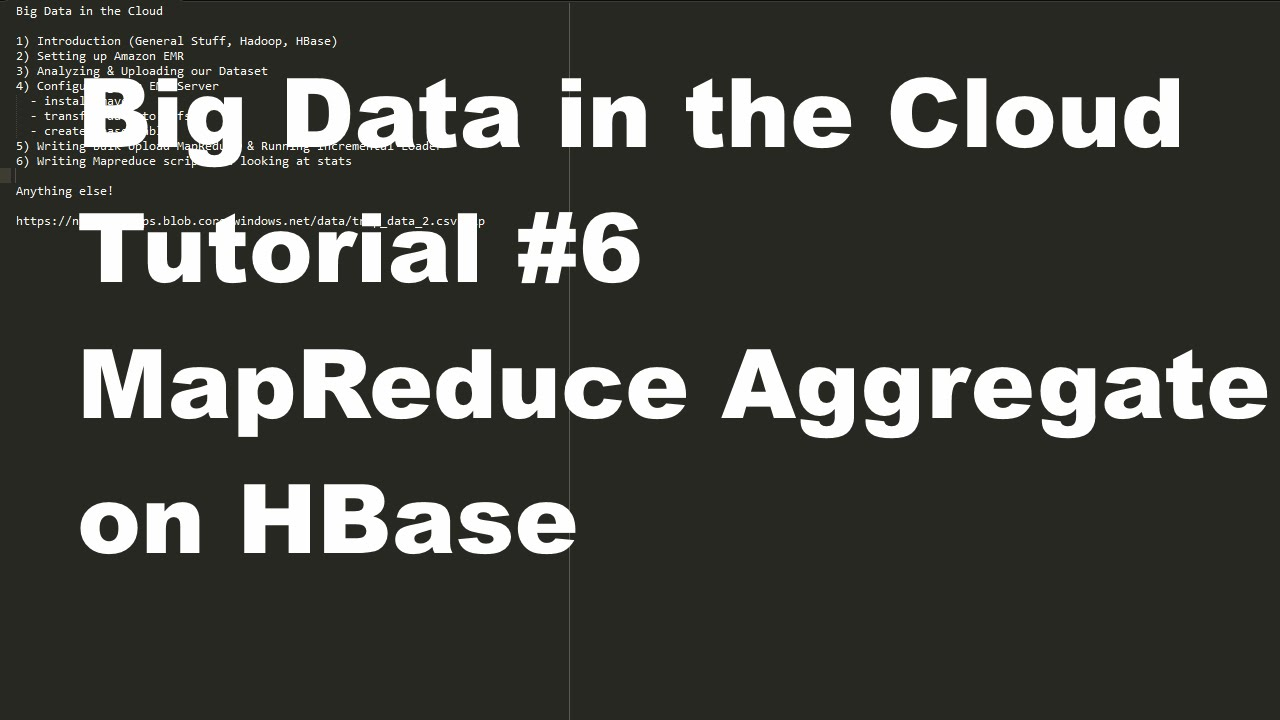 How to use sql, hadoop, drill, rest, json, nosql, and hbase in a.